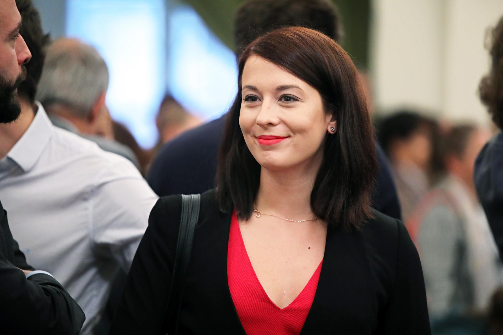 Donáth Anna, a Momentum EP-képviselője is részt vett az új Fővárosi Közgyűlés alakulóülésén
