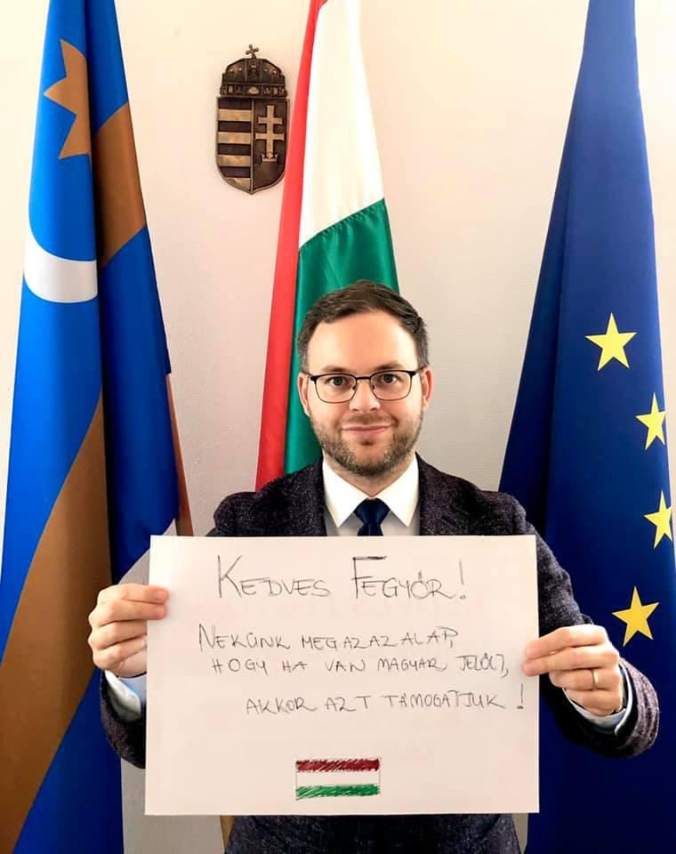 Orbán Balázsnak határozott véleménye van a Momentum elnökének akciójáról