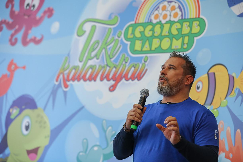 Kóbor György, az MVM Zrt. elnök-vezérigazgatója: Társadalmi felelősségvállalásunk alappillérének tekintjük a jövő generációk támogatását