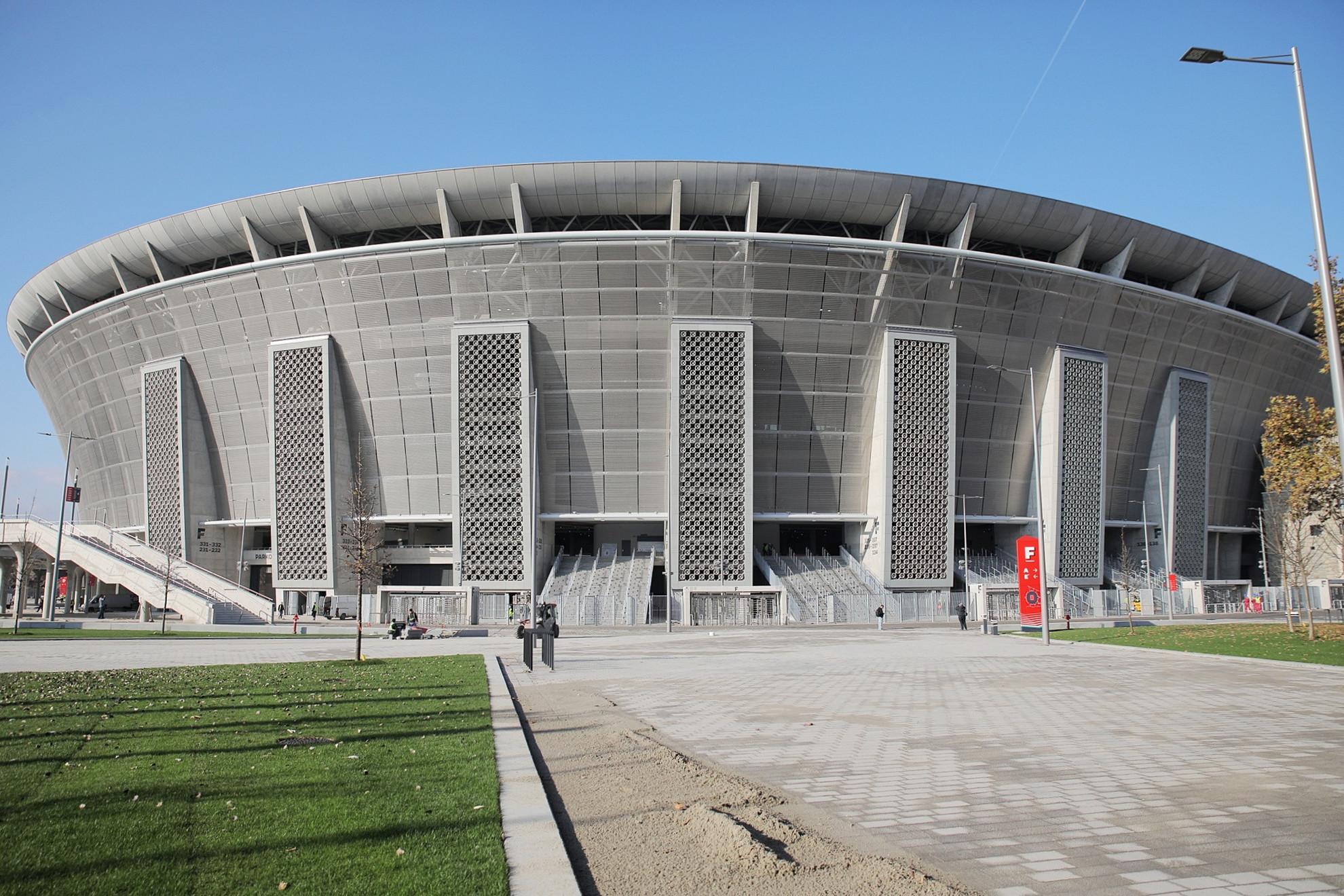 Az új Puskás Aréna milliméter pontosan oda épült, ahol az elődje állt
