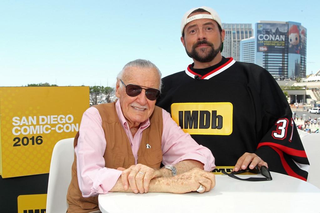 Stan Lee és Kevin Smith a 2016-os San Diego Comic Conon