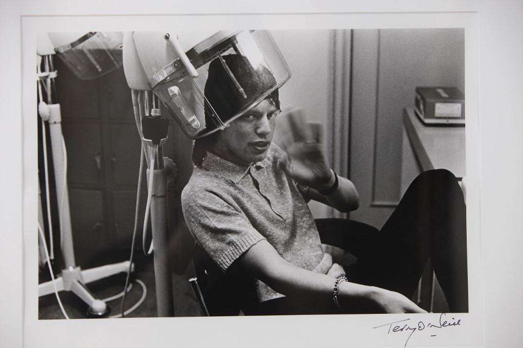 Terry O'Neill portréja Mick Jaggerről, a Rolling Stones frontemberéről