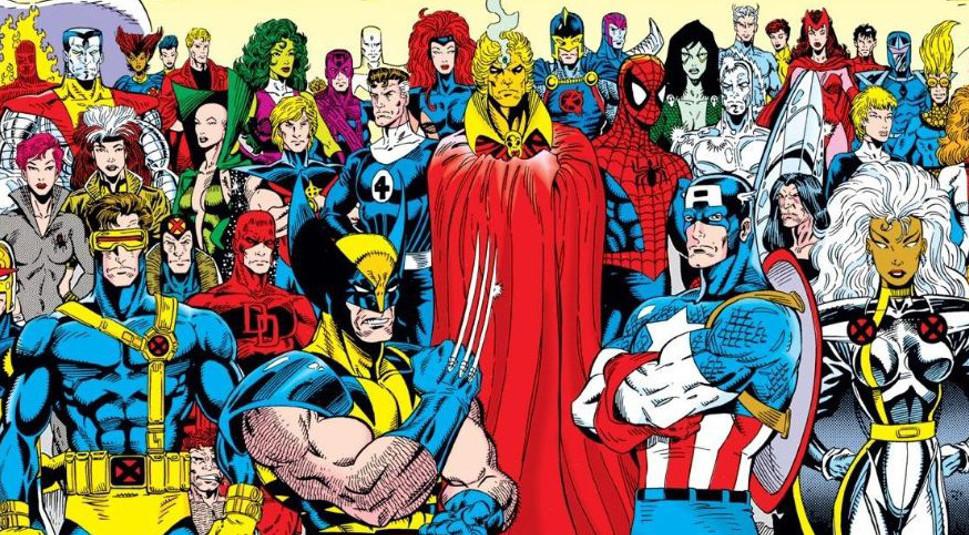 A Végtelen háború című történetben a Marvel-univerzum lényegében összes hőse összefogott a világot fenyegető Thanos ellen