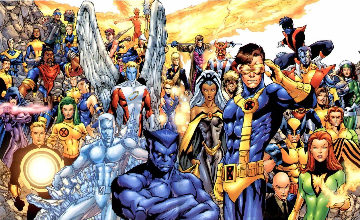 Az X-Men mutánsai új színt vittek a Marvel amúgy sem unalmas világába
