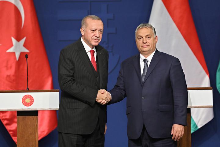 Orbán Viktor Erdogannal tárgyalt