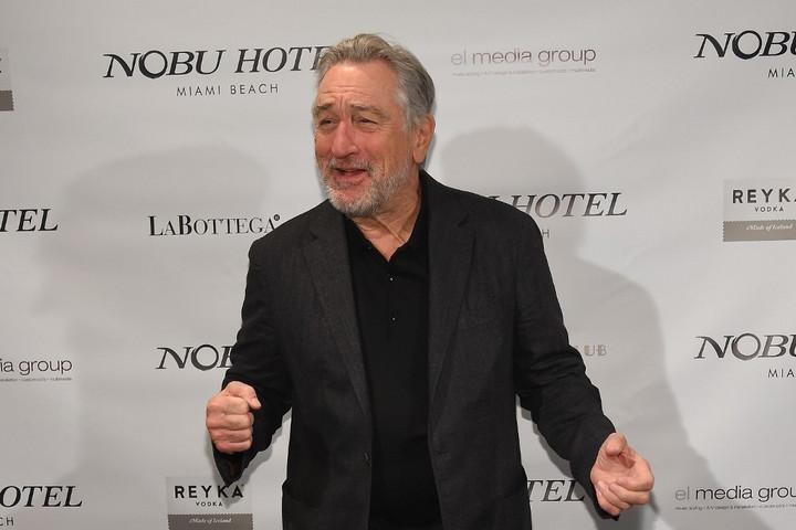 Robert De Niro életműdíjat kap