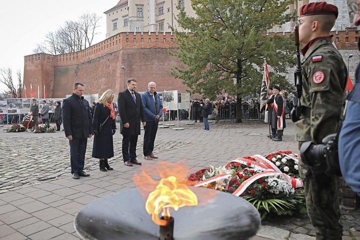 Ismét a magyarokkal közösen ünnepeltek Krakkóban