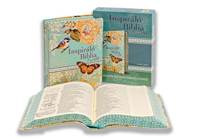 Megjelent az Inspiráló Biblia, amely főként a fiatalokat szólítja meg