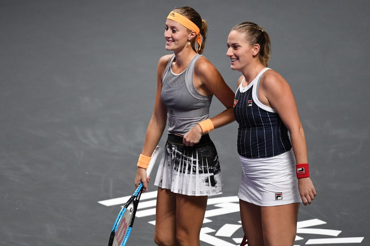 Babosék hibátlanul zárták a WTA-világbajnokság csoportkörét
