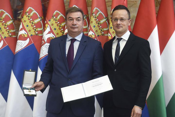 Szijjártó: Soha nem voltak még ilyen erősek a magyar-szerb kapcsolatok