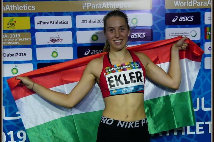 Ekler Luca újabb ezüstérmet nyert a para-atlétikai vb-n