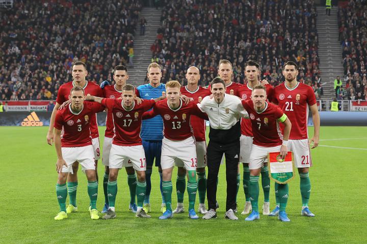 Magyarország visszacsúszott az 52. helyre a FIFA-világranglistán
