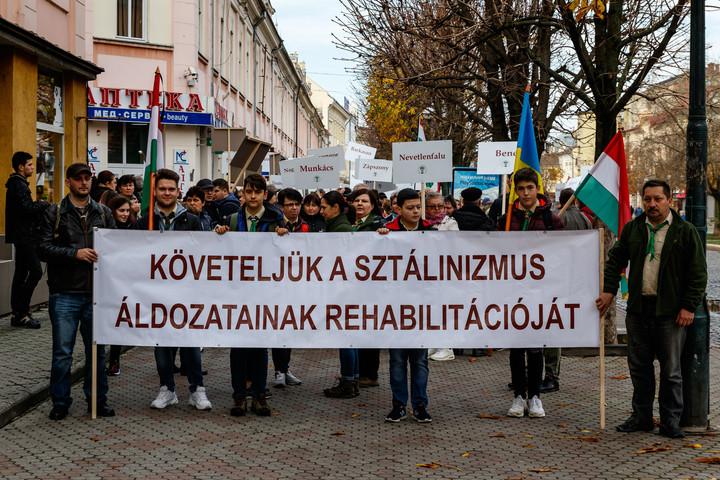 A kárpátaljai magyarok szovjet lágerekbe hurcolására emlékeztek Szolyván