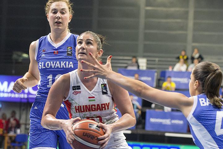 Kosárlabda: Női válogatottunk legyőzte Szlovákiát