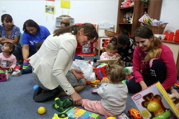 Megújult az Ökumenikus Segélyszervezet gyerekháza