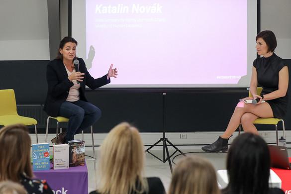 Novák Katalin: Nőként is lehet sikeresen vállalkozni