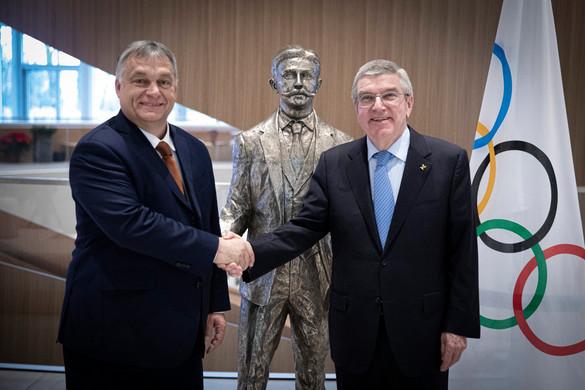 Orbán Viktor a NOB vezetőivel tárgyal