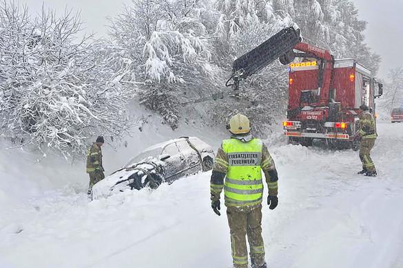 Novemberi havazás érte el Ausztriát