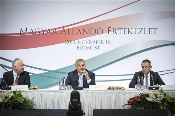 Orbán Viktor: Tisztán magyar pártok tudják hatékonyan képviselni a Kárpát-medencei magyarságot