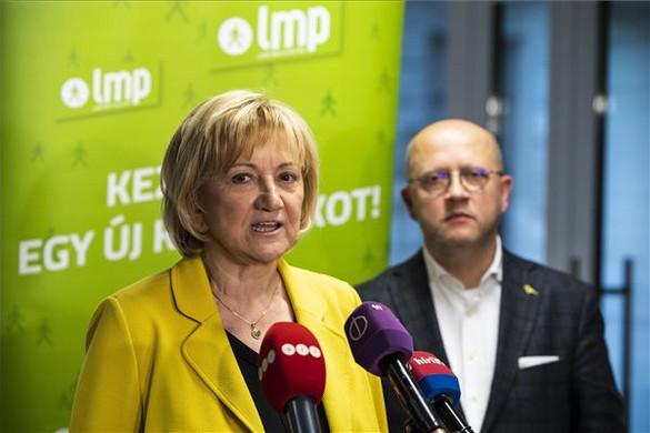 Társelnökévé választotta Schmuck Erzsébetet az LMP