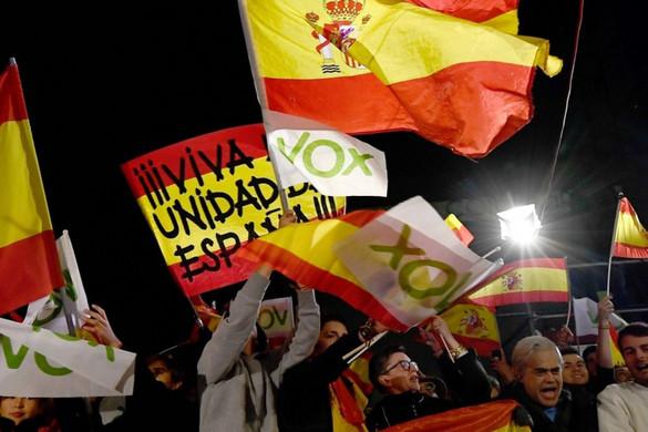 Előretörtek a bevándorlásellenesek Spanyolországban