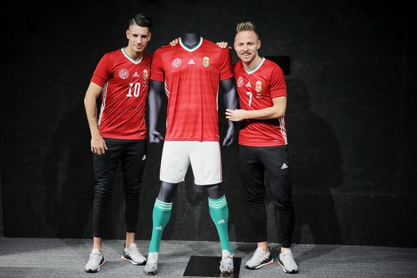 Bemutatták a magyar futballválogatott új mezét