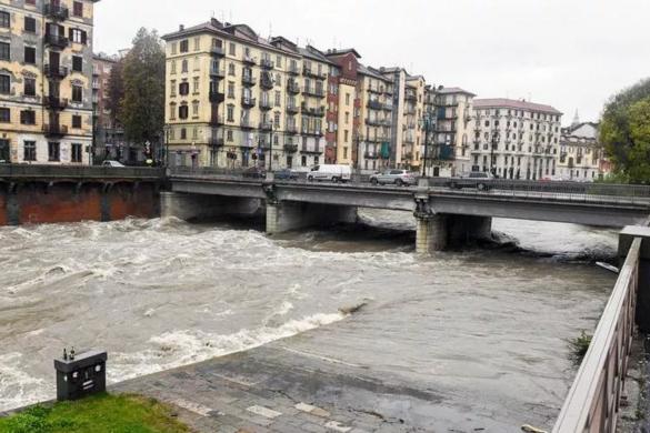 Súlyos az árvízhelyzet Észak-Olaszországban