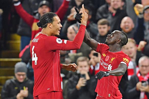 A Liverpool nyerte meg a rangadót