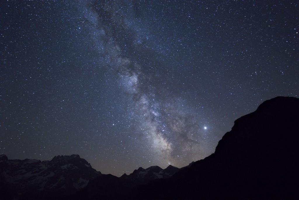 Galaxisunk, a Tejútrendszer képe a Földről fotózva