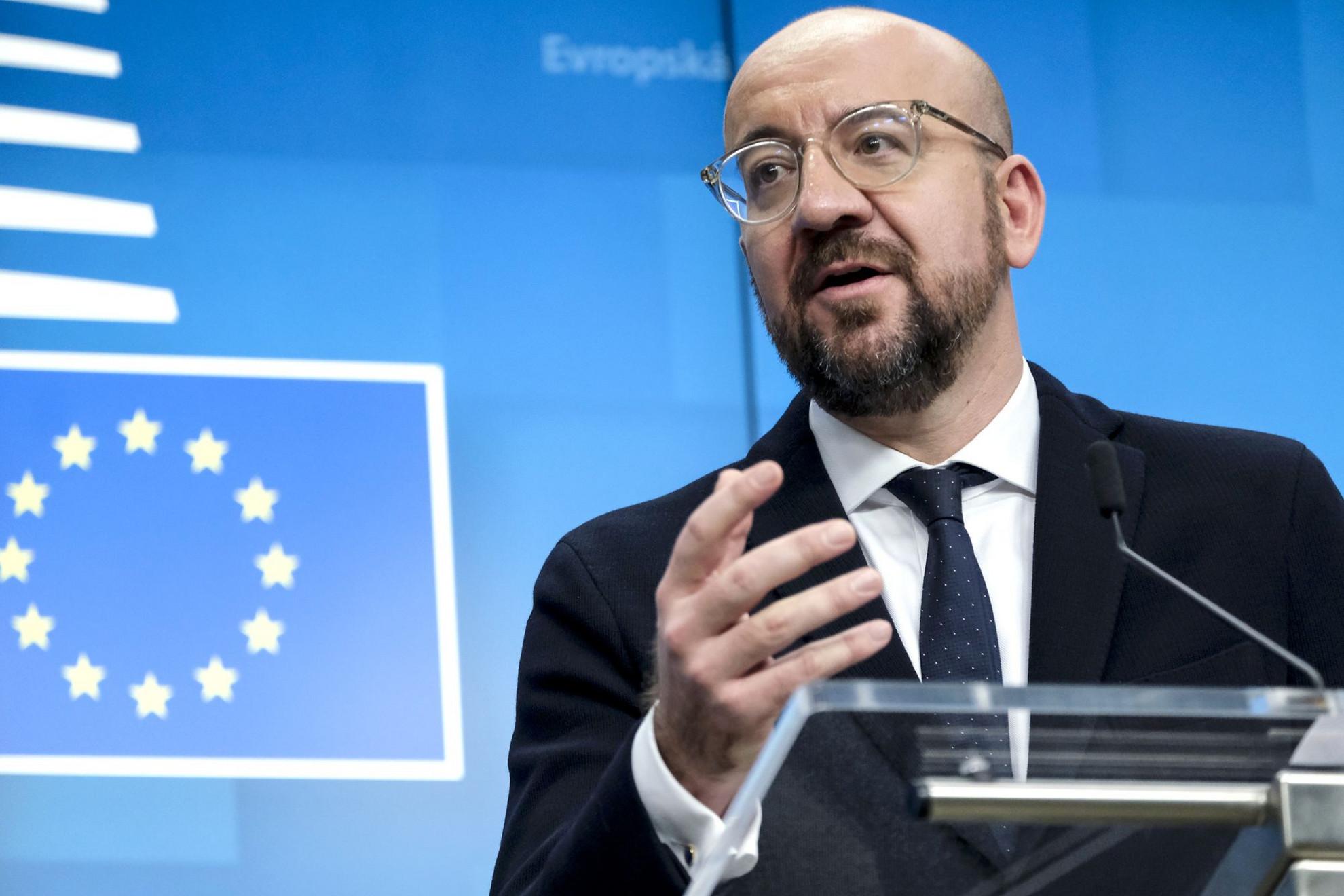 Charles Michel, az Európai Tanács elnöke: Minden tagország elfogadta a célokat