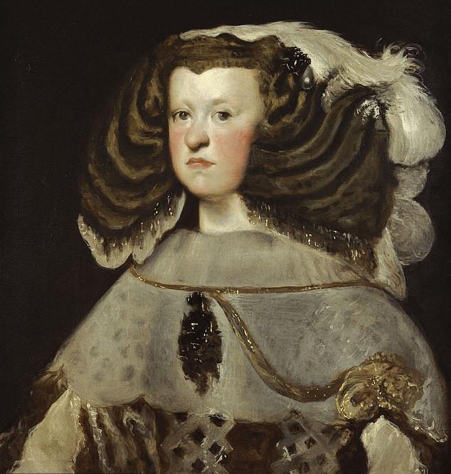 Ausztriai Marianna, spanyol királyné (1634-1696), aki Nagy Fülöp spanyol király unokahúga és egyben felesége is volt