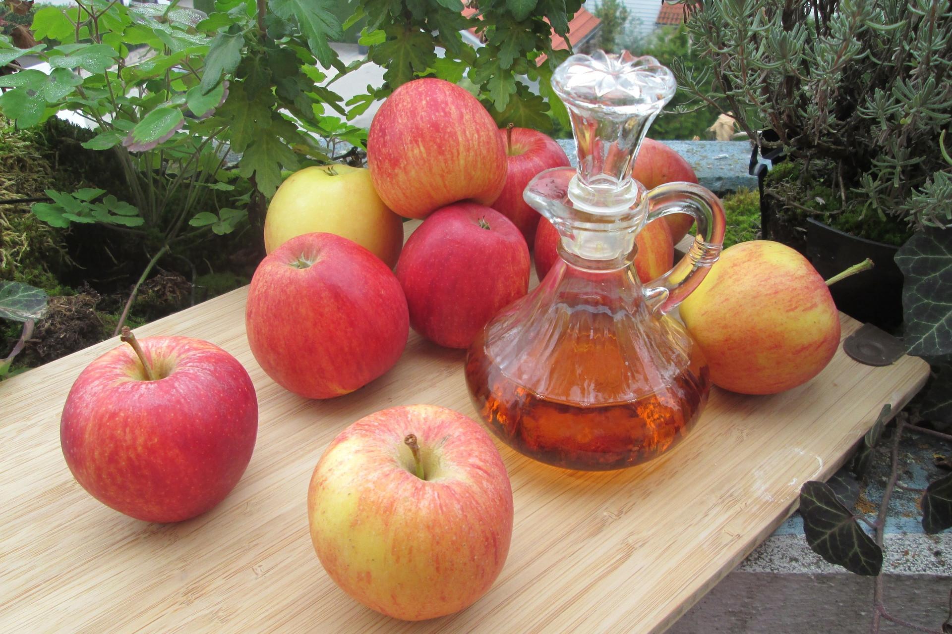Az friss gyümölcs és a belőle készült ecet is hasznos lehet