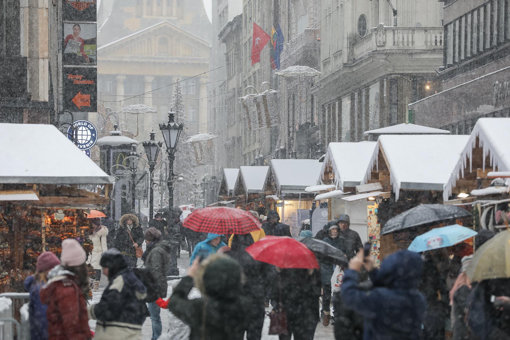 Havazás Budapest