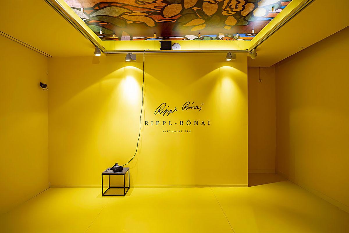 Virtuálisvalóság-tér a Rippl-Rónai-látogatóközpontban, ahol beléphetünk a festő egyik híres alkotásába