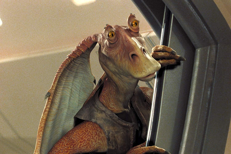 Jar Jar Binks, a rajongók általi leggyűlöltebb karaktere a Star Wars-univerzumnak