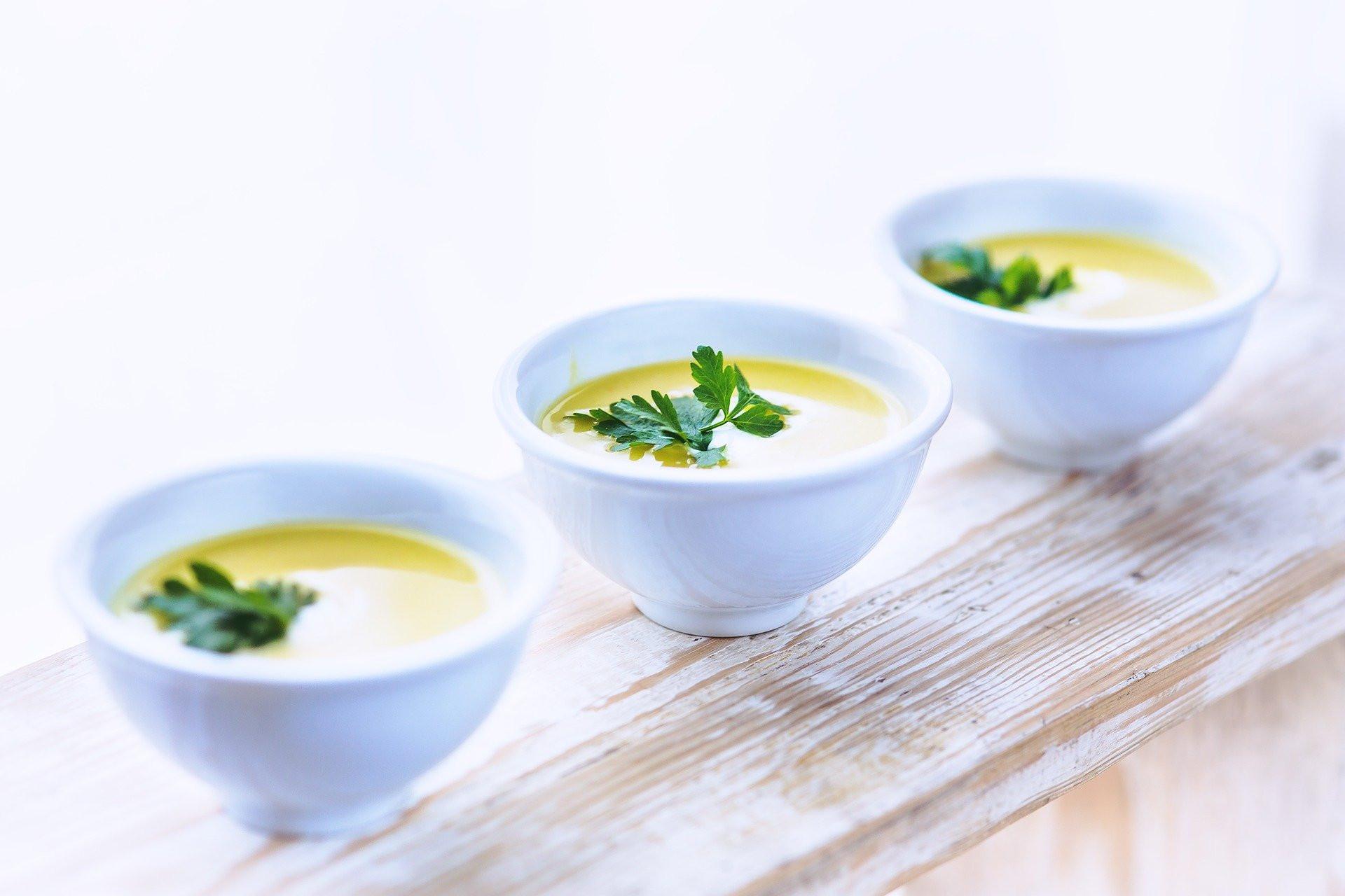 Tartalmas laktató krémes leves készülhet