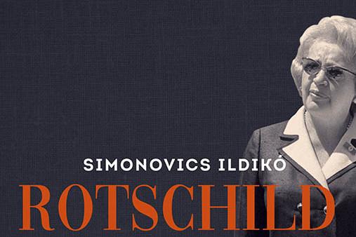 Részlet Rotschild Kláráról szóló könyv borítójáról