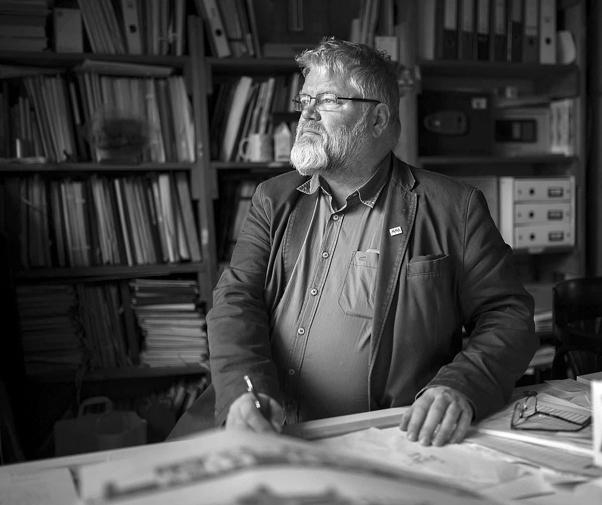 Turi Attila: A mélyben ott lapul az építészet igazi, lelket emelő, gerincegyenesítő igazgyöngy tartalma