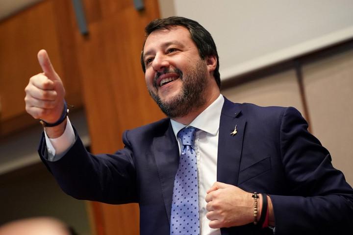 Salvini: Jó munkát, Orbán Viktor barátom!