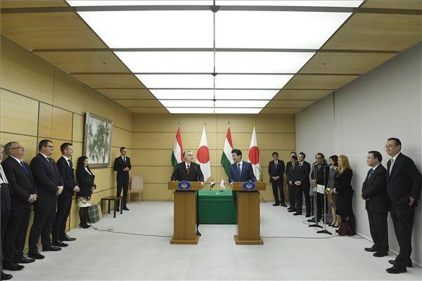 Orbán: Japán sikere nekünk is fontos