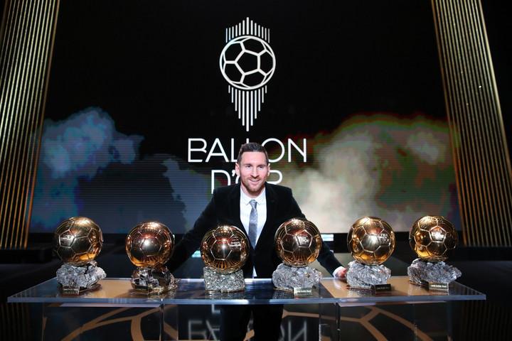 Hatodszor is Messi