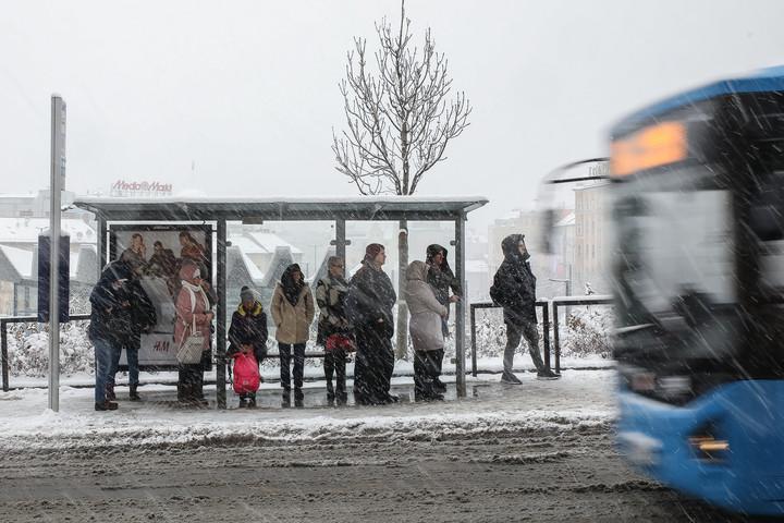 Kifogott az első hóesés az új főpolgármesteren