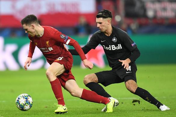Kikapott a Liverpooltól, az Európa-ligában folytatja Szoboszlai Dominik csapata
