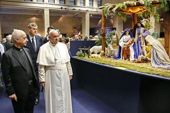 Kukoricacsuhé és korsó: magyar betlehemek a Vatikánban