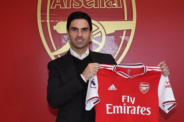Mikel Arteta lett az Arsenal új vezetőedzője
