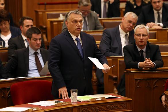Orbán Viktor helyretette az ellenzéki képviselőket