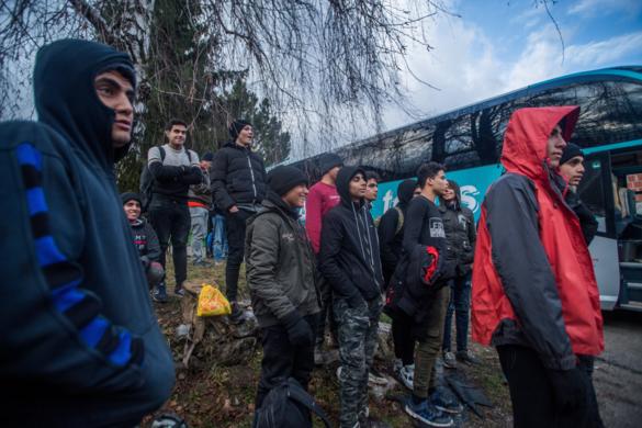 Bezár a migránstábor