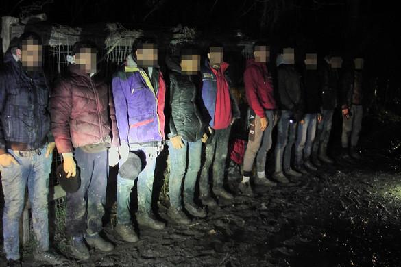 Egyetlen nap alatt 131 migránst fogtak el a rendőrök a határon
