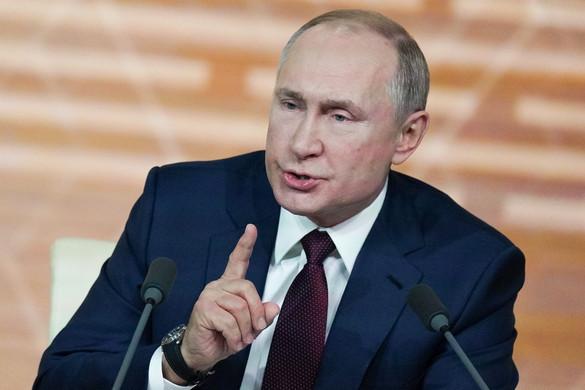 Putyin csak a hivatalos eredményhirdetés után gratulál az amerikai elnökválasztás győztesének