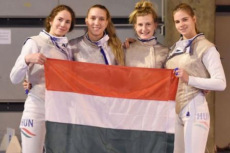 Bravúros vívással negyedik a magyar női tőrcsapat a St. Maur-i világkupán